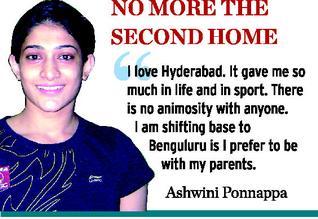 Ashwini Ponnappa Boyfriend Ashwini told  the hindu   thatAshwini Ponnappa Boyfriend