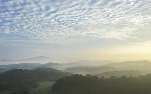 Amazing view across the valley at Vivanta by Taj - Madikeri, Coorg / Business Line