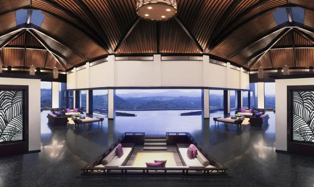 Breathtaking view of the valley below at Vivanta by Taj - Madikeri, Coorg / Business Line