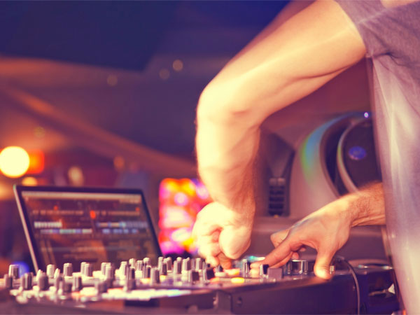 Next time you're out clubbing, keep an open mind about the music