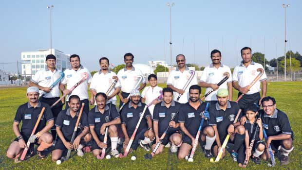 The hosts: Team Coorg Muscat, above, will take on Dubai based United Thalassery Sports Club, below, in a friendly hockey match to celebrate India's Independence Day. Photo – Supplied