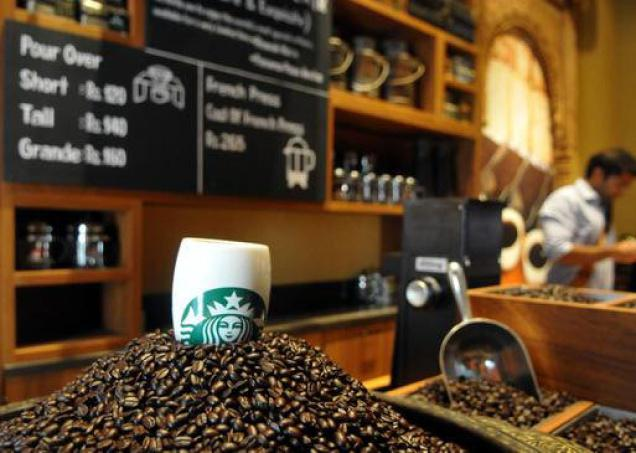 Blending well: India Estates Blend, Tata Starbucks' latest product for the Indian market.