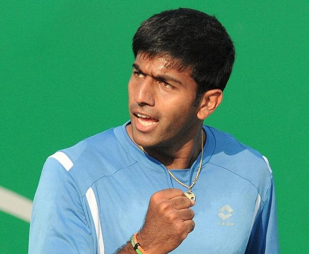 Rohan Bopanna. / File photo: R. Ragu / The Hindu
