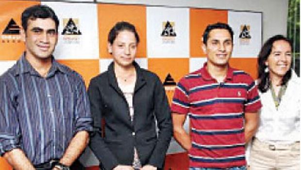 Ajai Appachu, Nadia Haridass, Fouad Mirza and Silva Storai