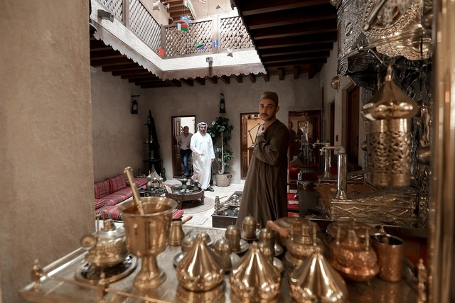 The interior of the museum at Bastakiya, Dubai / Ravindranath K / The National