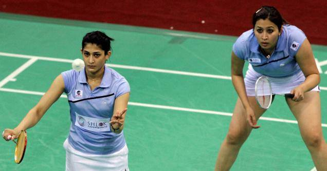 Jwala Gutta and Ashwini Ponnappa jumped from 15th to 13th in the latest rankings