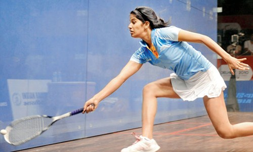 Chinappa has pipped former Indian No. 1 Dipika Pallikal to the title
