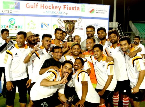Team Coorg celebrate with the trophy. Photo - Supplied