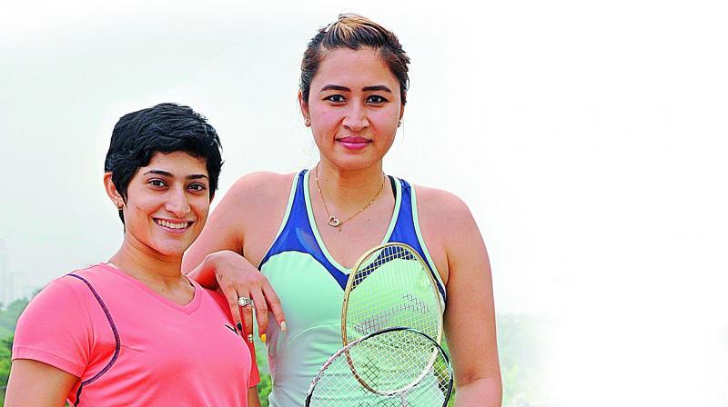 Badminton champs Jwala Gutta and Ashwini Ponnappa