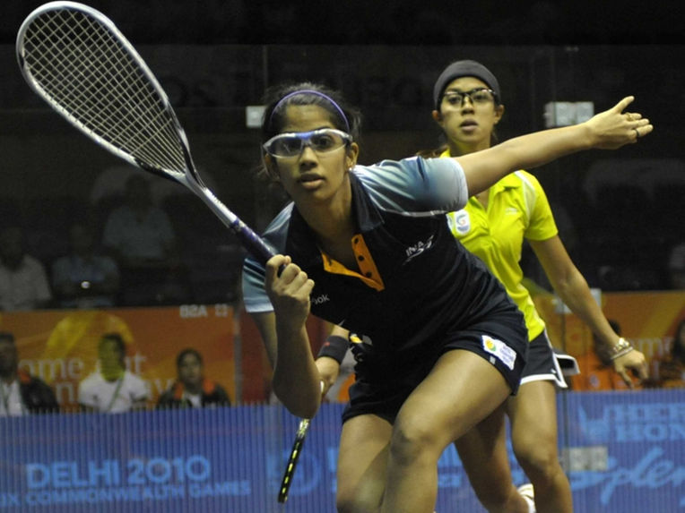 Joshna Chinappa entered final at the HKFC International in Hong Kong in May. /  @ AFP