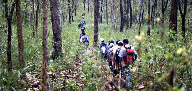 For Forest Department officials, illegal trekking remains a problem in Chikkamagaluru, Chamarajanagar and Dakshina Kannada districts. File photo: K. Murali Kumar