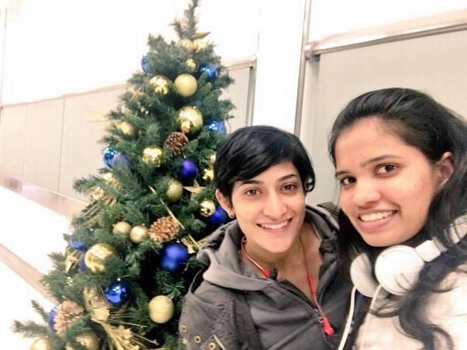 Looking ahead: Ashwini Ponnappa and N. Sikki Reddy are looking to take it match by match as they chart their course in the big league in the doubles.