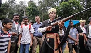 A Kodava shooting competition. Credit: Shawn Sebastian and Tejasvi Dantuluri