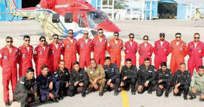 The Sarang helicopter team talks about the risks in the air,how they were inspired to master the skill of formation flying and the courage it takes to deliver a flawless performance