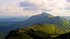The Baba Budan Hills in Karnataka