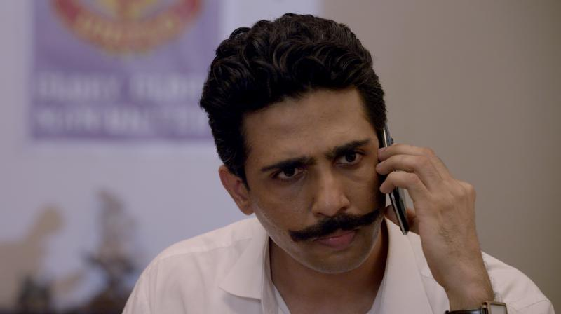 Gulshan Devaiah in a still from the film.