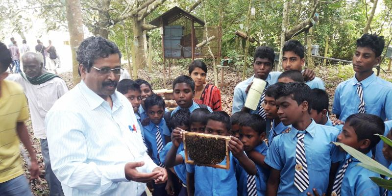 Visit to Forestry College, Ponnampet.