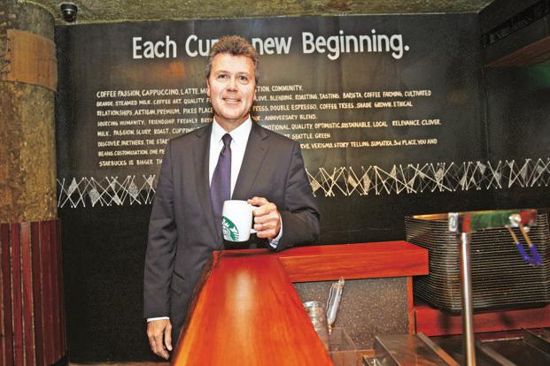 John Culver, group president, Starbucks International. Photo: Ramesh Pathania/Mint